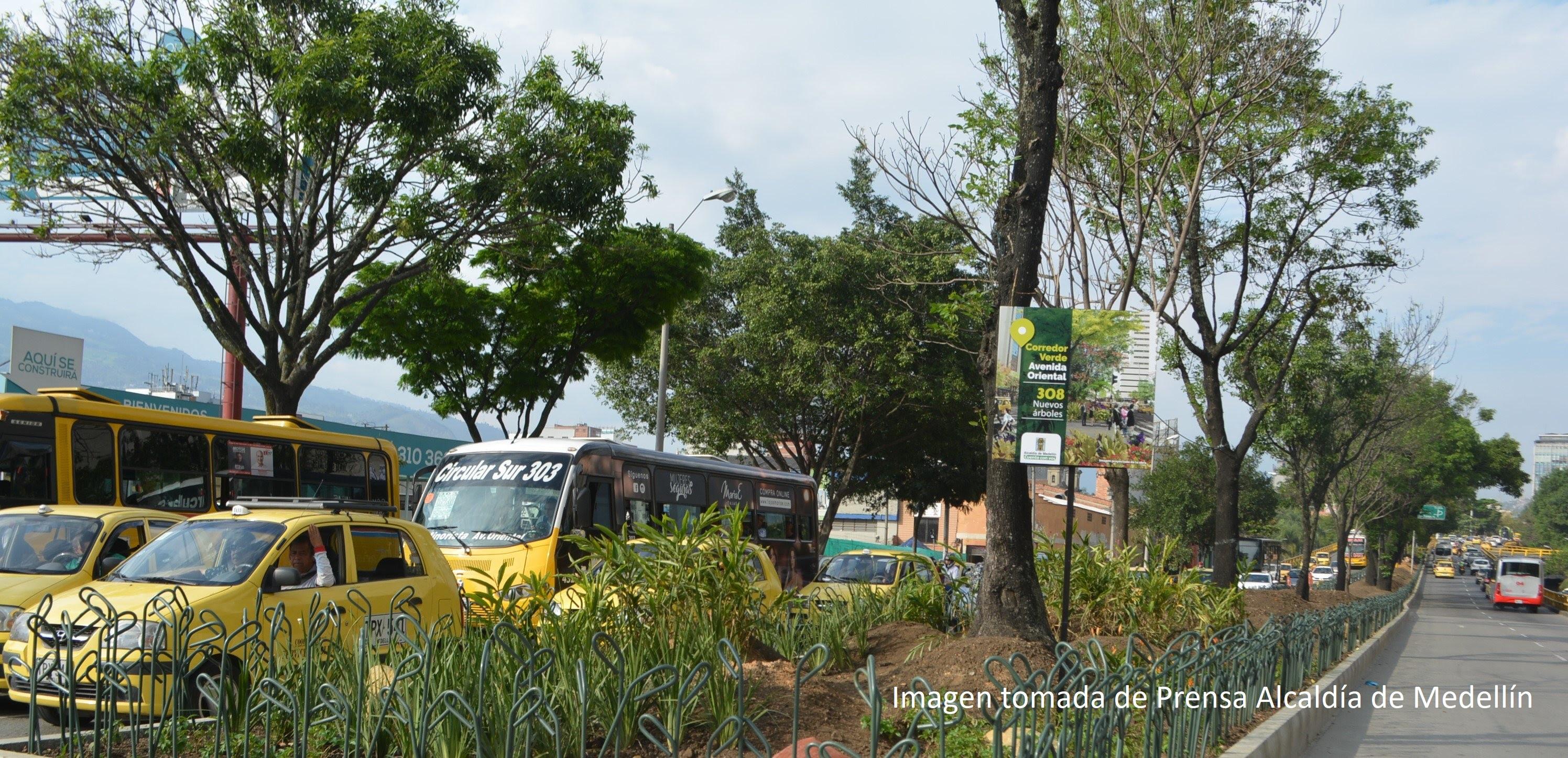 Los corredores verdes le dan una nueva cara a Medellín