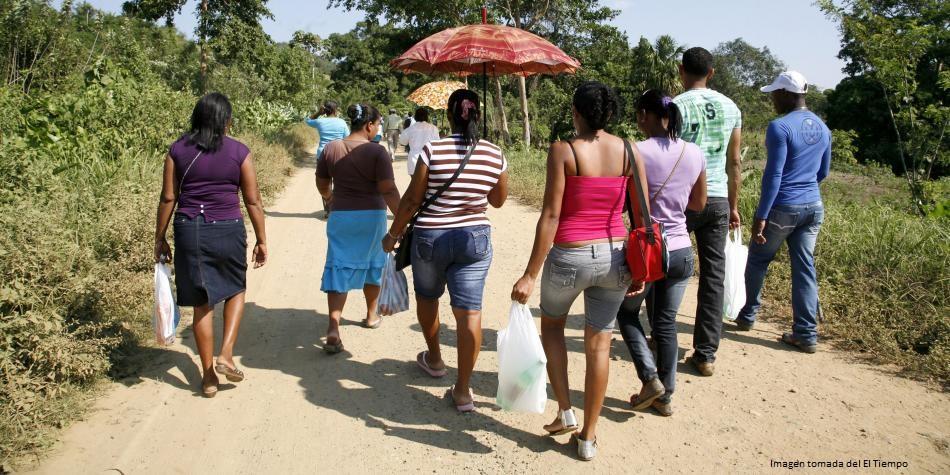 Más de 1.000 personas sufren desplazamiento forzado en tan solo cuatro días